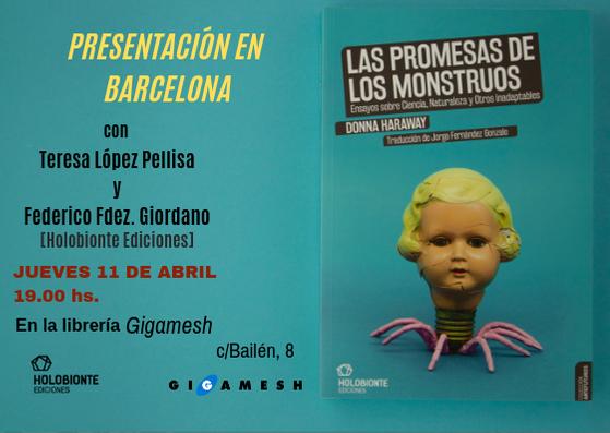PRESENTACIÓN EN BARCELONA